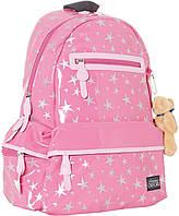 Рюкзак молодежный Оксфорд (Oxford) розовый 551997/ Х053