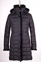 Женское пуховое полу-пальто
