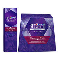Crest 3D White Luxe Whitestrips Glamorous White отбеливающие полоски для зубов из США