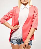 Модный жакет, женский пиджак до 48 размера