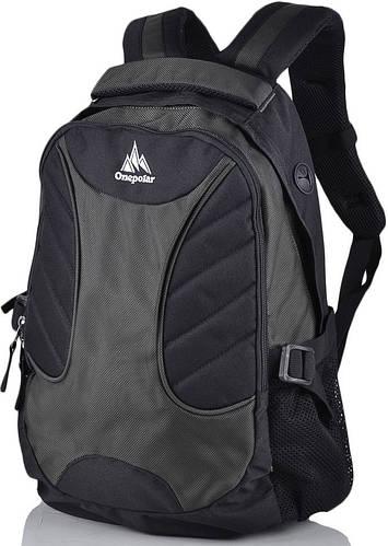 Современный городской рюкзак 30 л. Onepolar (Ванполар) W1307-green зеленый