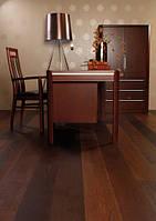 Паркетная доска Baltic Wood Дуб Cocoa Ancient Pure 1R 1-пол., фаска, лак мат.