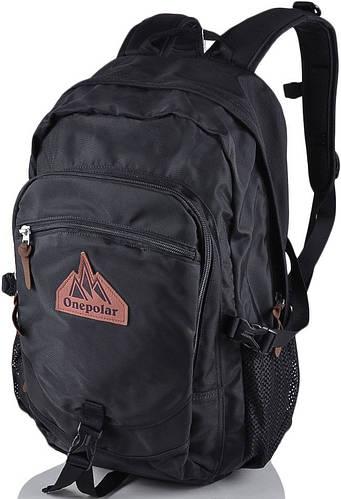 Функциональный мужской рюкзак 20 л. Onepolar W1768-black чёрный