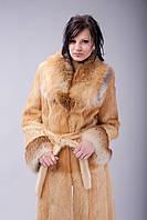 Пальто из стриженной нутрии