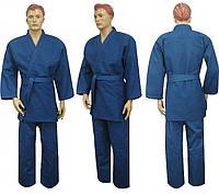 Кимоно для дзюдо MATSA синее