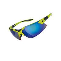 Очки EXUSTAR CSG17-GR сменная линза в комплекте, съемный ремешок. Защита от ультрафиолета. Зеленый