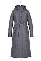 Пальто женское длинное на синтепоне.