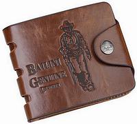 Мужской кожаный кошелек портмоне Bailini