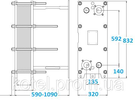 испаритель пластинчатый воздушный теплообменник марка гхк-8 1 6-500м состав