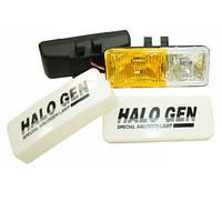 Фары универсальные дополнительного света, 190х75мм, белый/желтый, 2 шт. LAVITA LA HY-116C/W