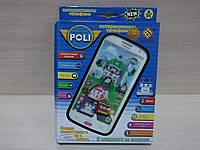 Телефон, смартфон интерактивный Робокар Поли (Robocar Poli), 2 вида в коробке