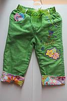 Летние штаны-бриджи для девочки
