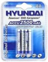 Аккумулятор Hyundai R6 AA 2500 mAh Ni-Mh 2 bl