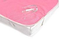 Непромокаемые наматрасники в детскую кроватку 120х60. Цвета в ассортименте