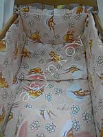 Сменные наборы постельного белья в кроватку для новорожденных