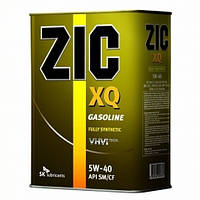 Масло моторное синтетика ZIC(Зик) XQ 5W-40 4л