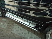 Защита оригинальных порогов BMW X5 e53 (БМВ Х5 е53) 2000г-2006г