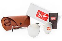 Круглые солнцезащитные очки Ray Ban Round Metal RB3447/7261