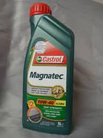 Моторное масло полусинтетика Castrol(Кастрол)Magnatec 10W-40 A3/B4 1л