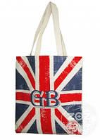 """Эко-сумка хлопковая """"Британський прапор"""""""