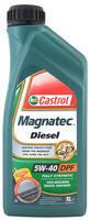 Моторное масло синтетическое Castrol (Кастрол) Magnatec Diesel 5w 40 DPF 1л.