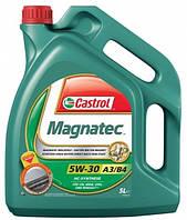 Масло моторное синтетика Castrol (кастрол) Magnatec A3/B4 5W-30 4л
