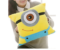 Декоративная мягкая подушка игрушка Миньон 38 см