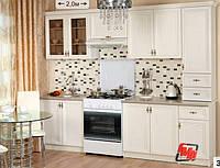 Кухня Оля Люкс 2,0 ясень шимо (модульна система)