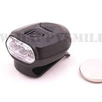 Фонарик на кепку Police 8001 Headlamp 3 LED