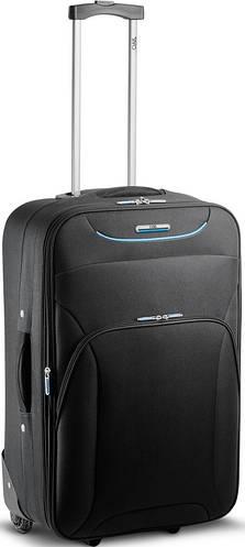 Средний чемодан на двух колесах 67 л. Ciak Roncato UP, 42.39.02.01 черный