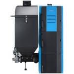 Котел твердотопливный Buderus G221A 25 кВт (с автоматической подачей топлива)