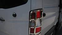 Накладки на стопы Mercedes Sprinter W906 (мерседес спринтер), нерж.