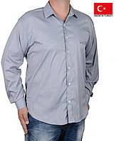 Классическая мужская рубашка,в полоску.