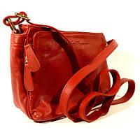 Небольшая кожаная сумочка Salvatore Ferragamo красная, расцветки в наличии