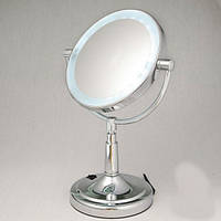 Зеркало с подсветкой для макияжа настольное италия