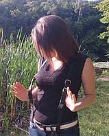 Подтяжки кожаные ручной работы handmade