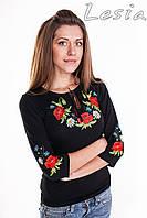 Жіноча вишиванка - Маки червоні