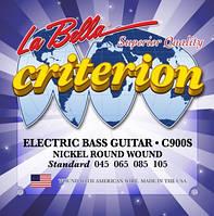 Струны для бас-гитары La Bella С900S (45-105)