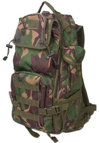 Рюкзак туристический 38 л. Innturt Small A1002-3 camouflage зеленый