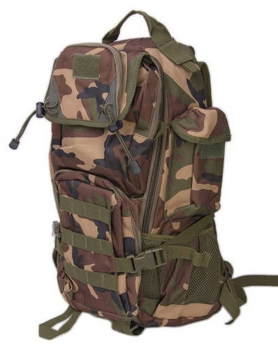 Рюкзак туристический 38 л. Innturt Small A1002-4 camouflage темно- зеленый