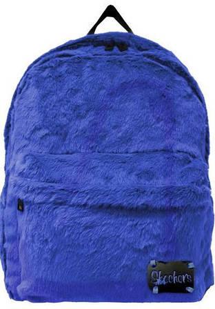 Замечательный женский рюкзак 21 л. Skechers Furry Jump 75101;39 синий