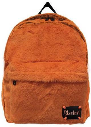 Оригинальный женский рюкзак 21 л. Skechers Furry Jump 75101;69 оранжевый