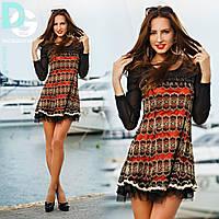 Платье из фатина №6052