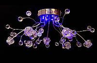 Люстра галогенная со светодиодной подсветкой , пультом 1274-9