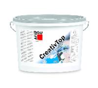 Штукатурка силиконовая BAUMIT KREATIV TOP SILK К02 моделируемая, белая, 25кг