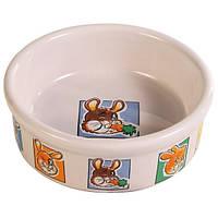 Trixie Ceramic Bowl миска керамическая для кроликов 240мл (62953)