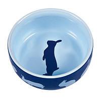 Trixie Ceramic Bowl миска керамическая для кроликов 250мл (60733)