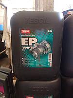 Трансмиссионное масло Teboil EP 80W-90 (20л.) для легковых и грузовых автомобилей