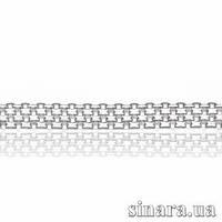 Серебряная цепь 8445