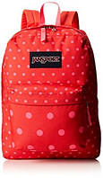 Рюкзак JanSport SuperBreak Backpack Coral Dusk Dots